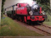 Fotobehang Op Maat Locomotief - Eigen Foto!