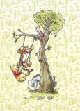 Winnie Pooh in the wood DX4-017_