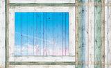 Hout - Steen - Beton Fotobehang 1100P8_