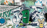 Graffiti Fotobehang 1396P8_