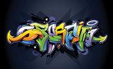 Graffiti Fotobehang 1509P8_