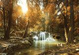 Bos Waterval Fotobehang 10470P8_
