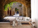 Romantisch Steegje Fotobehang 13025P8_