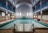 Verlaten Zwembad Fotobehang 12635P8_