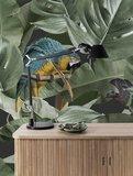 KEK Botanical Birds black 2d WP-579 (Met Gratis Lijm)_