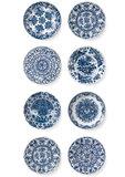 KEK Amsterdam Royal Blue Plates WP.373 (Met Gratis Lijm)_
