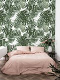 KEK Monstera white 2d WP-584 (Met Gratis Lijm)_