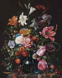 KEK Panel Golden Age Flowers PA-018 (Met Gratis Lijm)_