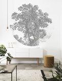 KEK Circle Engraved Tree CK-013 (Met Gratis Lijm)_