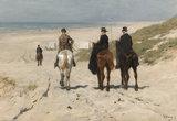 Rijksmuseum Morgenrit langs het strand Anton Mauve RM15 (Met Gratis Lijm)_