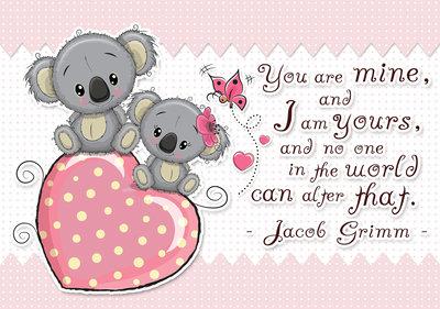 Koala Love Fotobehang 13326P8