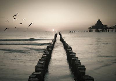 Strand Looppad Fotobehang 13350P8