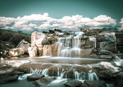 Waterval Fotobehang 13360P8