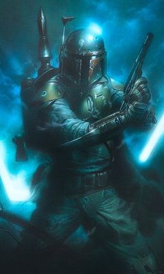 Star Wars Classic Bounty Hunter DX3-034