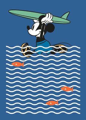 Mickey gone Surfin' DX4-025