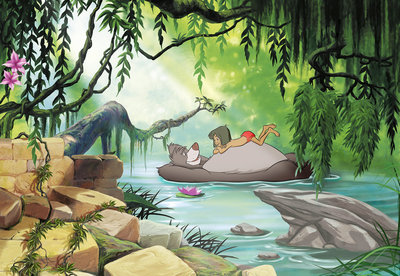 Jungle book swimming with Baloo 8-4106