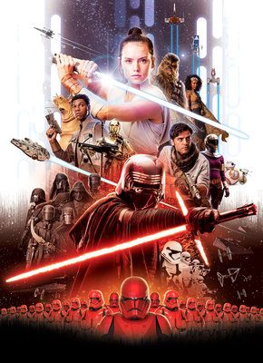 Star Wars Movie Poster Rey 4-4113