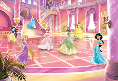 Disney Princess Glitzerparty 8-4107