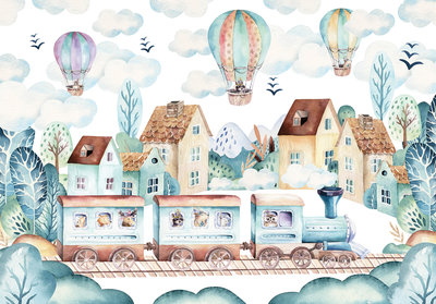 Luchtballonnen Fotobehang 13673P8