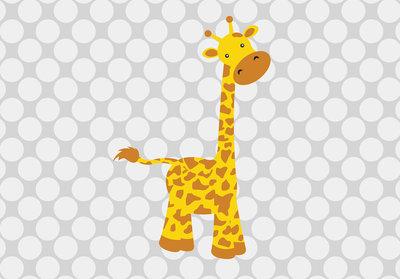 Baby Giraffe Fotobehang 10992P8