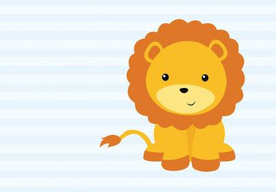 Baby Leeuw Fotobehang 10993P8