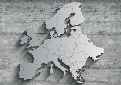 Europa Beton Fotobehang 13585P8