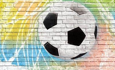 Voetbal Fotobehang 2021P8