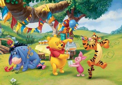 Winnie The Pooh Fotobehang 3173P8