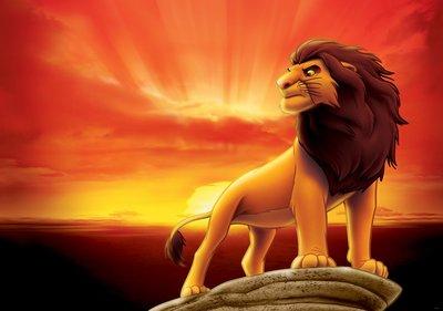 Lion King Fotobehang 3205P8