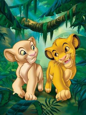 Lion King Fotobehang 3208P4A