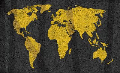 Wereldkaart Fotobehang 10000P8