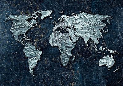 Wereldkaart Fotobehang 10385P8