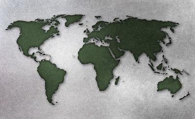 Wereldkaart Fotobehang 10422P8