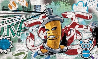 Graffiti Fotobehang 1397P8