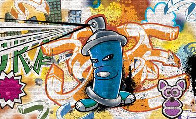 Graffiti Fotobehang 1398P8