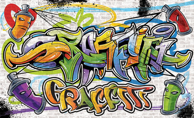 Graffiti Fotobehang 1399P8