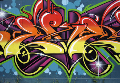 Graffiti Fotobehang 140P8
