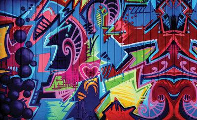 Graffiti Fotobehang 1508P8