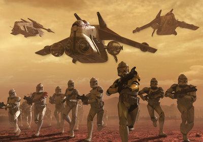 Star Wars Fotobehang 1594P8