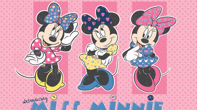 Mickey & Minnie Mouse Fotobehang 1677P8