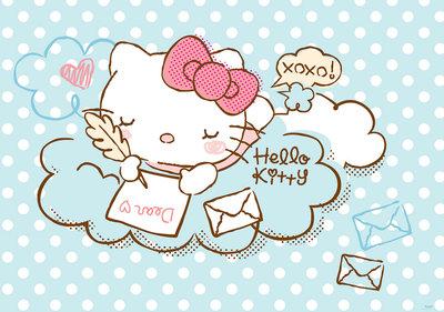 Hello Kitty Fotobehang 1802P8