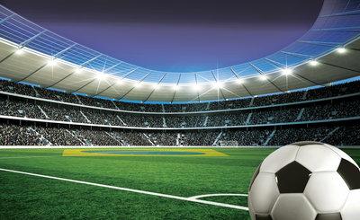 Voetbal Fotobehang 1915P8