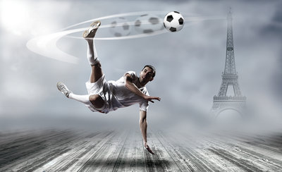 Voetbal Fotobehang 2255P8