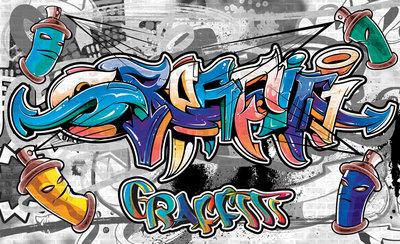 Graffiti Fotobehang 2294P8