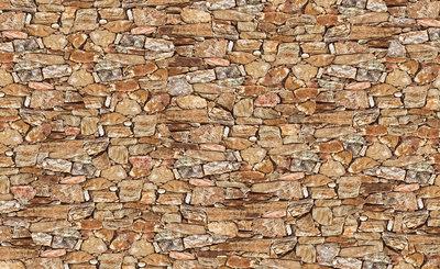 Hout - Steen - Beton Fotobehang 243P8