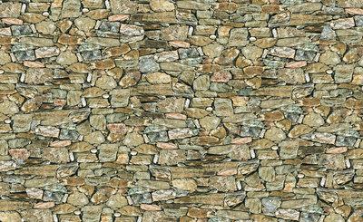 Hout - Steen - Beton Fotobehang 244P8