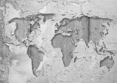 Wereldkaart Fotobehang 2819P8