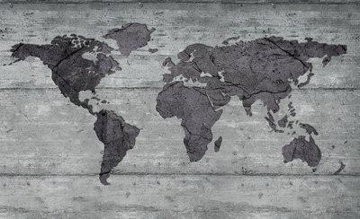 Wereldkaart Fotobehang 2854P8