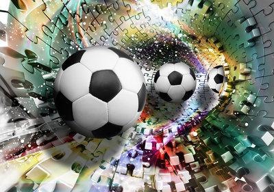 Voetbal Fotobehang 3381P8