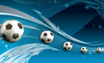Voetbal Fotobehang 3385P8